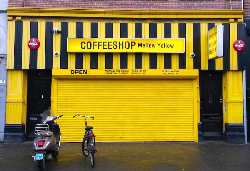Coffeshop history of amsterdam