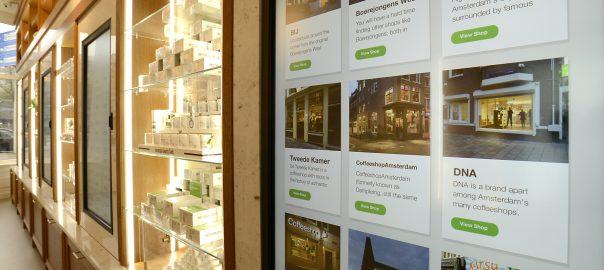 Coffeeshop info centre Amsterdam