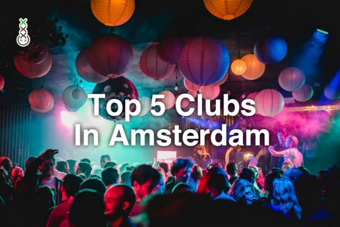 top 5 clubs Amsterdam