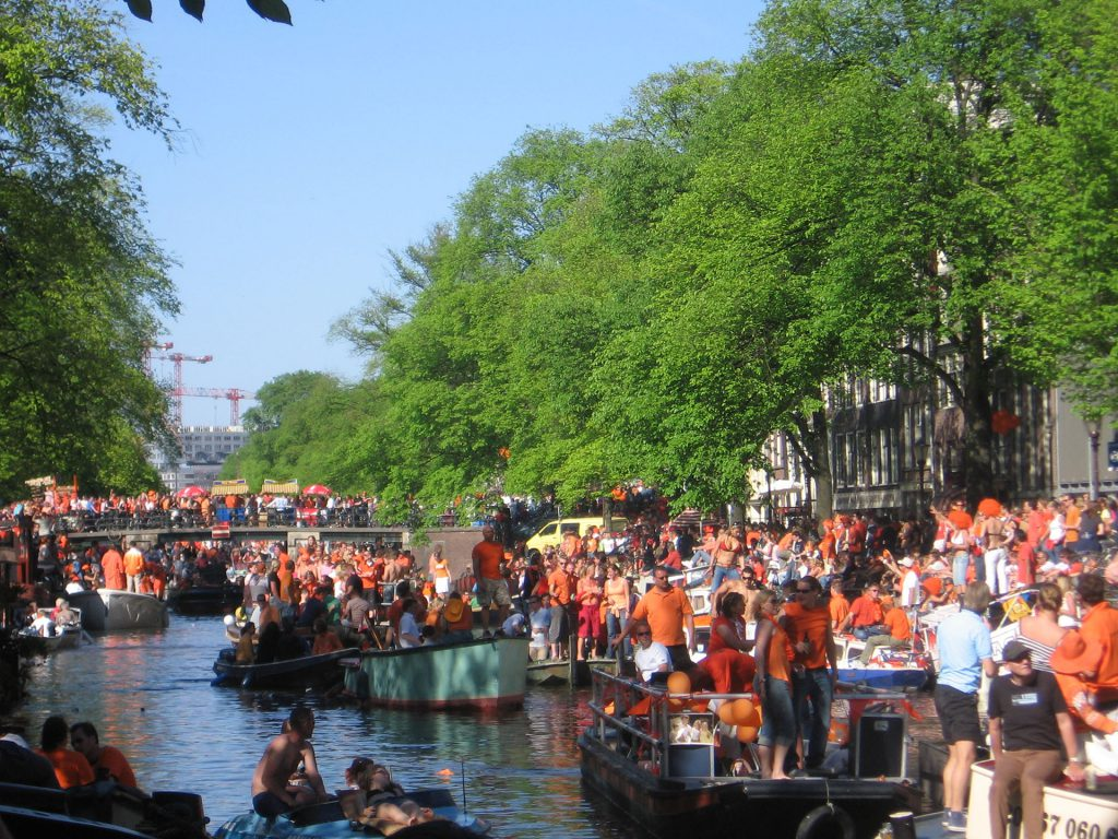 King's Day 2020 in Amsterdam