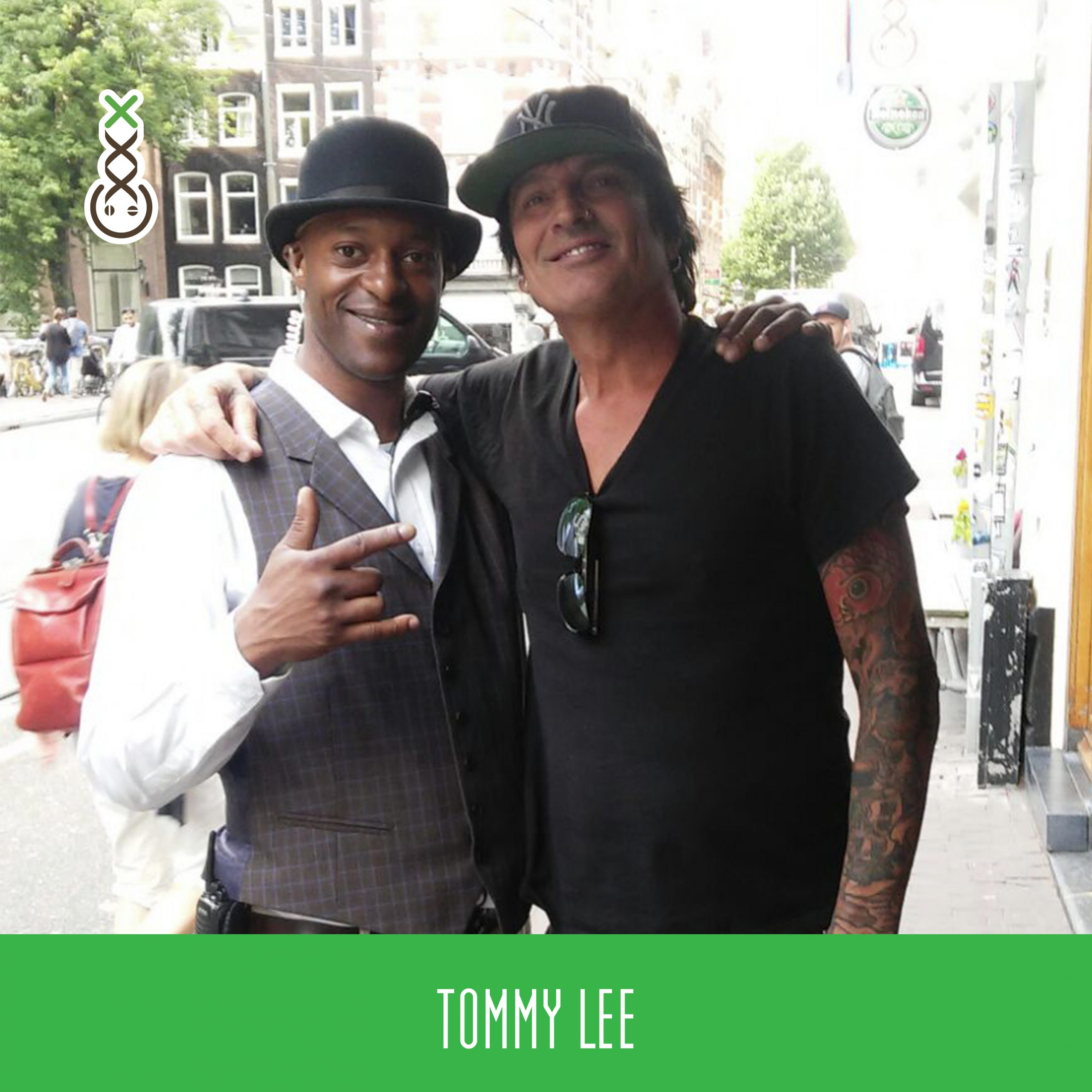 Tommy Lee @ Boerejongens coffeeshop celebrity
